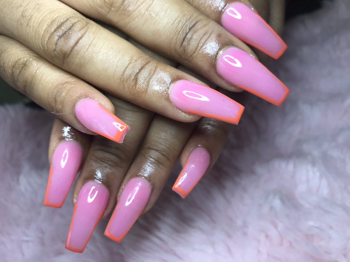 Orange french tips   https:// instagram.com/byjencoleman      Kindly rt<br>http://pic.twitter.com/SAuIQdPqyj