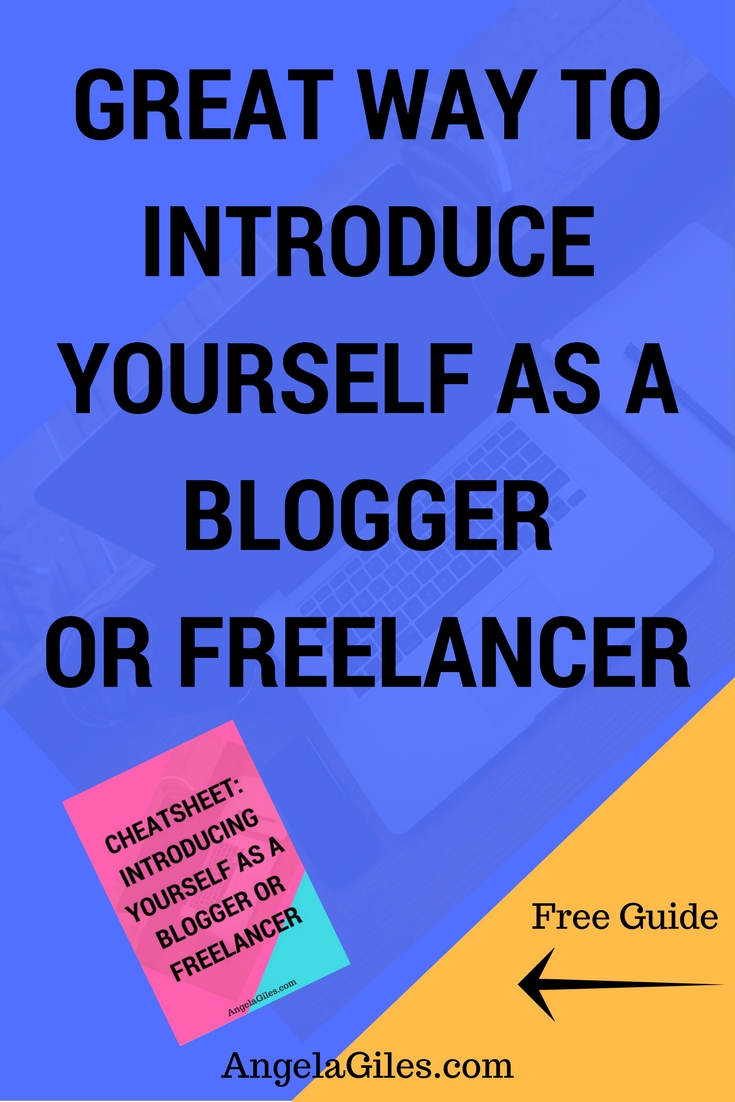 Great Way To Introduce Yourself As A Blogger Or Freelancer http://www.angelagiles.com/introduce-blogger-freelancer/… RT @angelaksgilespic.twitter.com/nL24ZgXBry
