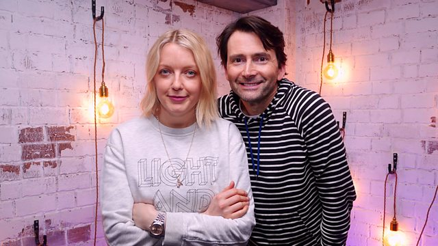 David Tennant from when he recorded his interview with Lauren Laverne