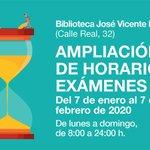 Image for the Tweet beginning: La Biblioteca Municipal amplía su