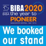 Image for the Tweet beginning: We have booked our stand