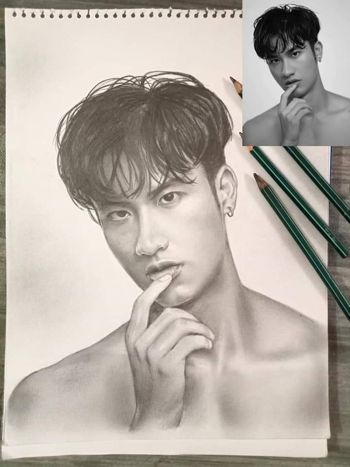 WHAT A BEAUTIFUL FAN ART   Ctto  #TayNew  @Tawan_V @new_thitipoom<br>http://pic.twitter.com/WSe39sJjyu