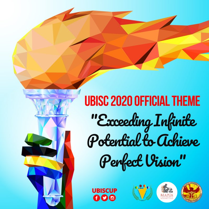 """UBISC 2020 OFFICIAL THEME  """"Exceeding Infinite Potential to Achieve Perfect Vision""""  As we enter a new decade, our goal for this year's annual cup is to achieve greatness and excellence by exceeding one's potentials by discovering new talents and abilities.  #UBISC2020<br>http://pic.twitter.com/g3f2gmVdBm"""