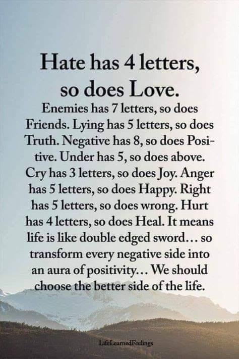 "Where possible...choose the ""better side of life."" #YouMatterAlways # #whoyouarematters #allthatyouare #positiveselftalk #positivevibesonly #selfworth #selfesteem #senseofself #positivementalhealth #positivemindsetpic.twitter.com/vvm8looDKC"