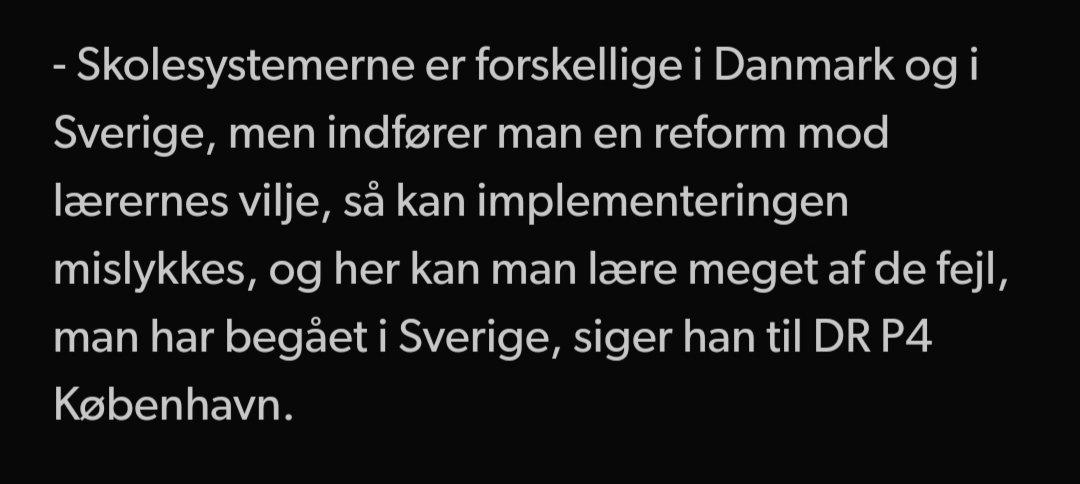 test Twitter Media - Følgende er citater af hhv. Anders Jakobsson og Leif Lewin i en artikel på https://t.co/FP4mf3v66k den 7.4.2014. Dem lader vi lige stå lidt. For sig selv. De siger nemlig alt. #dkpol #skolechat #vivilfolkeskolen https://t.co/UILBwDNBkh