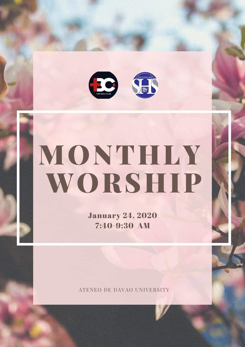 To start the year right is to start it with God. Come and join us as we kick off this year's Monthly Worship.   Let worship be our lifestyle.  <br>http://pic.twitter.com/16ZMTZ2C2v