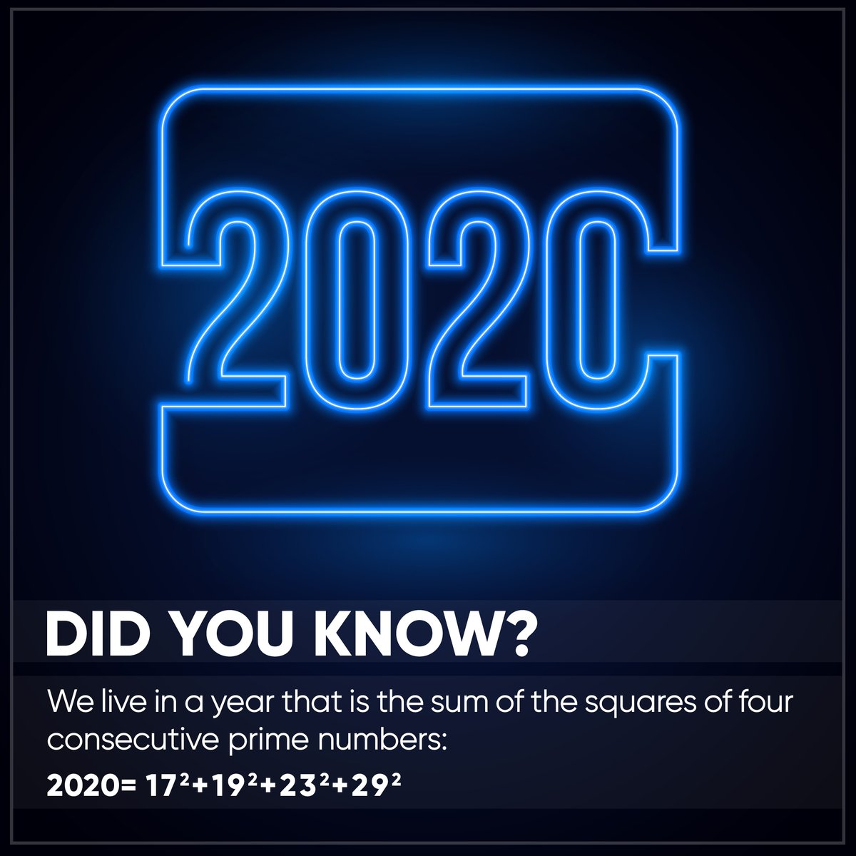 Our obsession with math and 2020 continues. https t.co 3Z4qlNHKM0