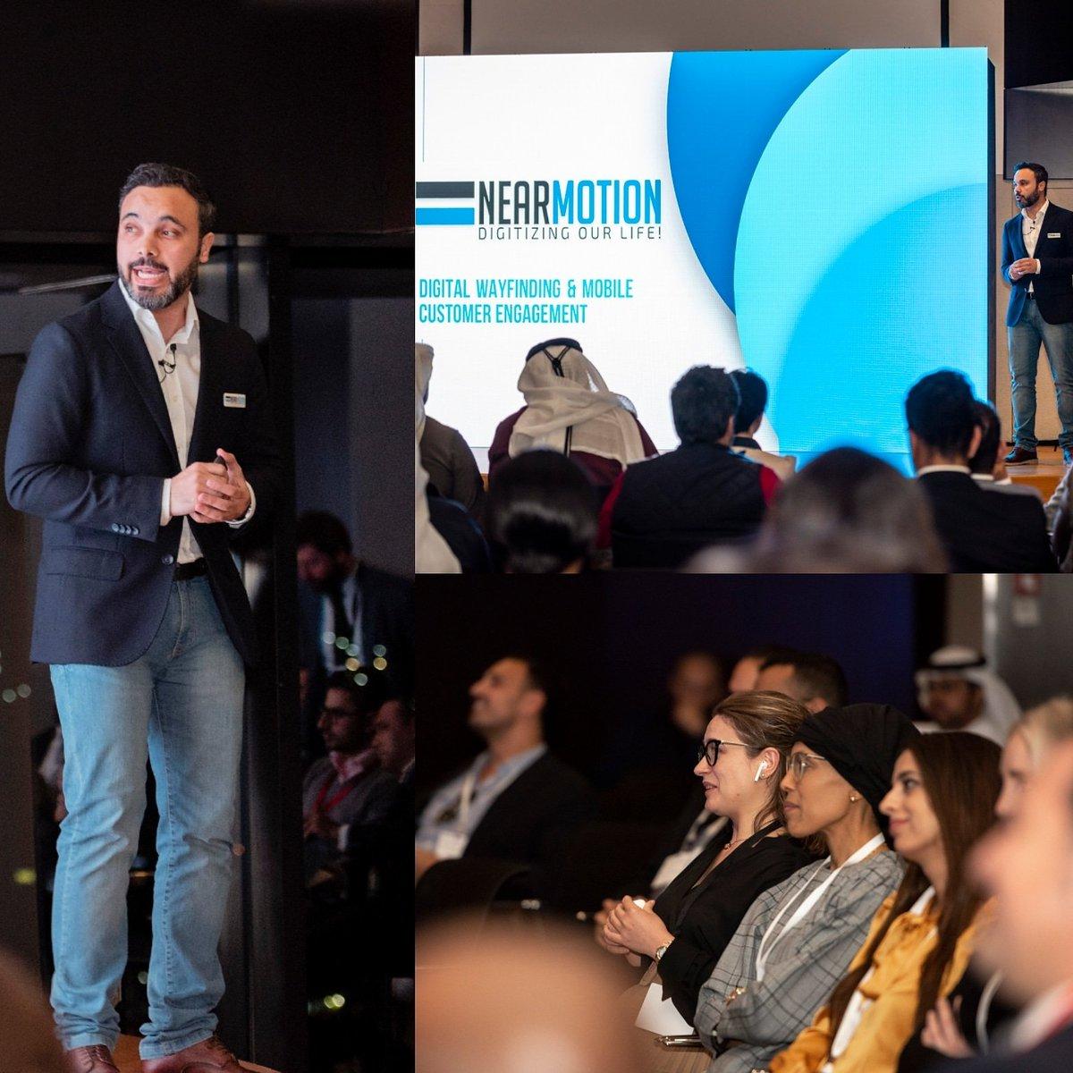 @NEARMOTION presenting on Demo Day as a pround finalist of the @dxb_smartcity @dubaichamber #Dubai #startup #saudiarabia https://t.co/QXXJSywWKc