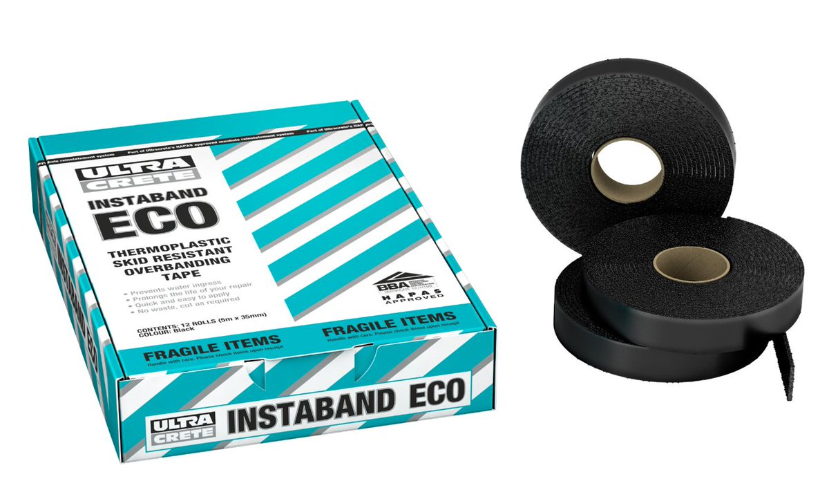 Looking for a #HAPAS Approved Thermoplastic #overbanding tape? Instaband ECO meets the criteria http://ow.ly/kNKR30q6cEQ pic.twitter.com/BvPAyyjQVP