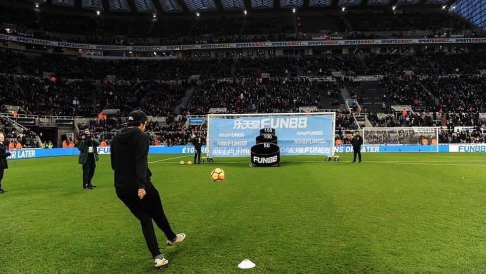 Fancy the FA Cup this weekend? Follow & RT to win a pair of tickets to @NUFC vs Oxford United and take part in the FUN88 HT Challenge on the pitch!   #NUFC #FACup <br>http://pic.twitter.com/IvIXkcFTg8