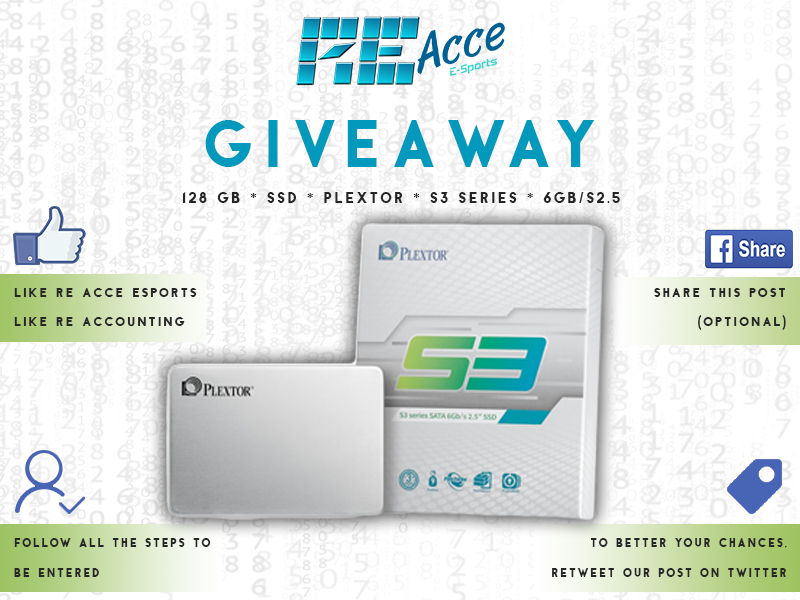 We are giving away 2 128GB SSD's to celebrate re-signing with of our sponsor @ReAccounting. Thank you so much for this awesome giveaway @ReAccounting! To enter, click on the gleam link below and follow the steps:  https:// gleam.io/competitions/O UmKo-128gb-ssd-giveaway   …   Competition closes 21 February 2020(12PM).<br>http://pic.twitter.com/PDIdxbttN5