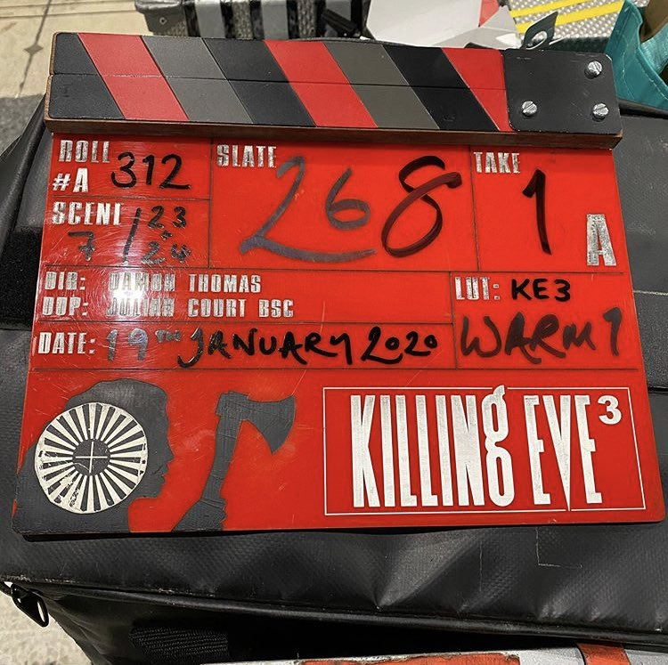 Killing Eve's third season has officially wrapped and the wrap party will be held tonight!   Credit: Barry Coxhead, Boom Operator - via Instagram <br>http://pic.twitter.com/05cg7P530N