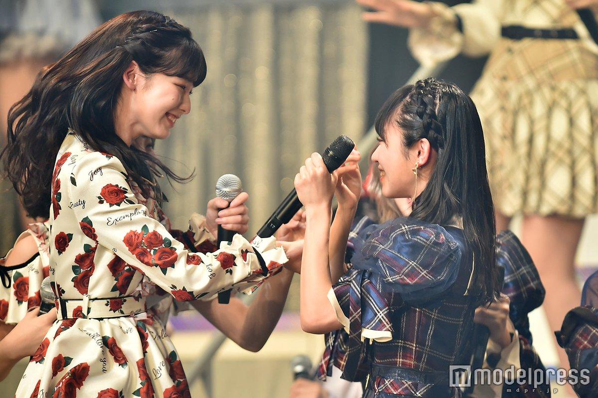 【写真追加📷】AKB48、半年ぶりのシングルリリース決定❣57thはずっきーが初センター💫同期なーみんと感動のハグも…#山内瑞葵 #浅井七海 #リクアワ #リクアワ2020 @AKB48_staff▼18名選抜メンバー& 山内瑞葵プロフィール