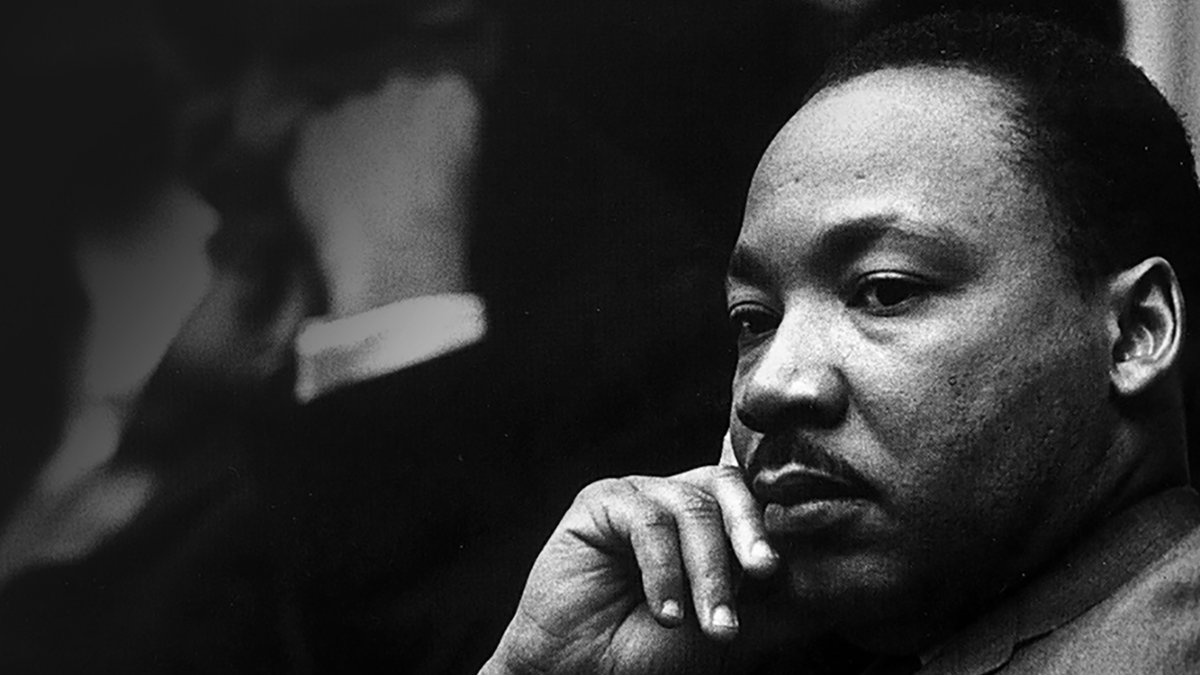 """Why is equality so assiduously avoided? Why does white America delude itself, and how does it rationalize the evil it retains?""  Don't just read the man's inspirational quotes today. Remember Martin Luther King, Jr.'s frustration, passion and anger too. <br>http://pic.twitter.com/4zorhGbAQz"