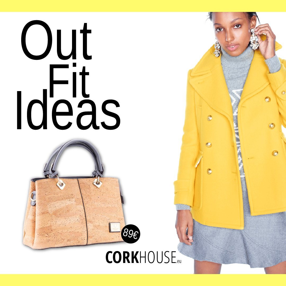 Look your best with the help of this very timeless design cork bag  Follow us and be the first to receive our promotions.  #Cork #PortugueseCork #Corkproducts #Recyclable #Renewable #Vegan #VeganFashion #ResistantMaterial #Sustainable #Ecofriendlypic.twitter.com/ftPnehcQi1