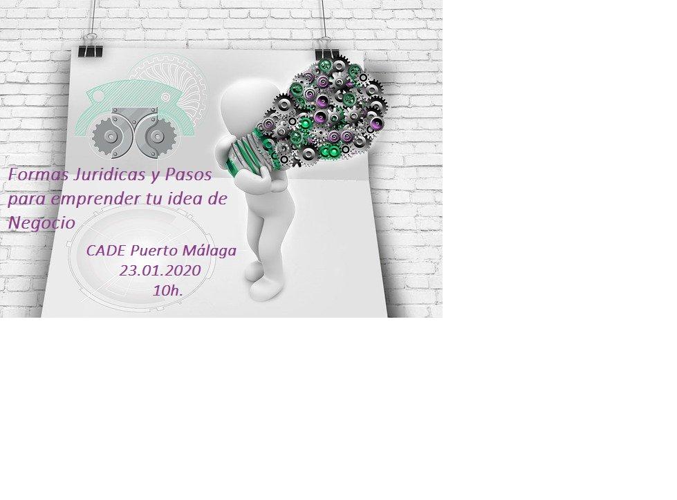 ¿Has pensado #emprender este año? Pues te contamos como puedes hacerlo Formas jurídicas, #ayudas... todo para poner en marcha tu #empresa #Emprendimiento #autonomo   #SomosEmprende  Reserva tu plaza  951920960 #CADE Puerto #Malaga 23.01 10 h.pic.twitter.com/h8r2CNUx7G