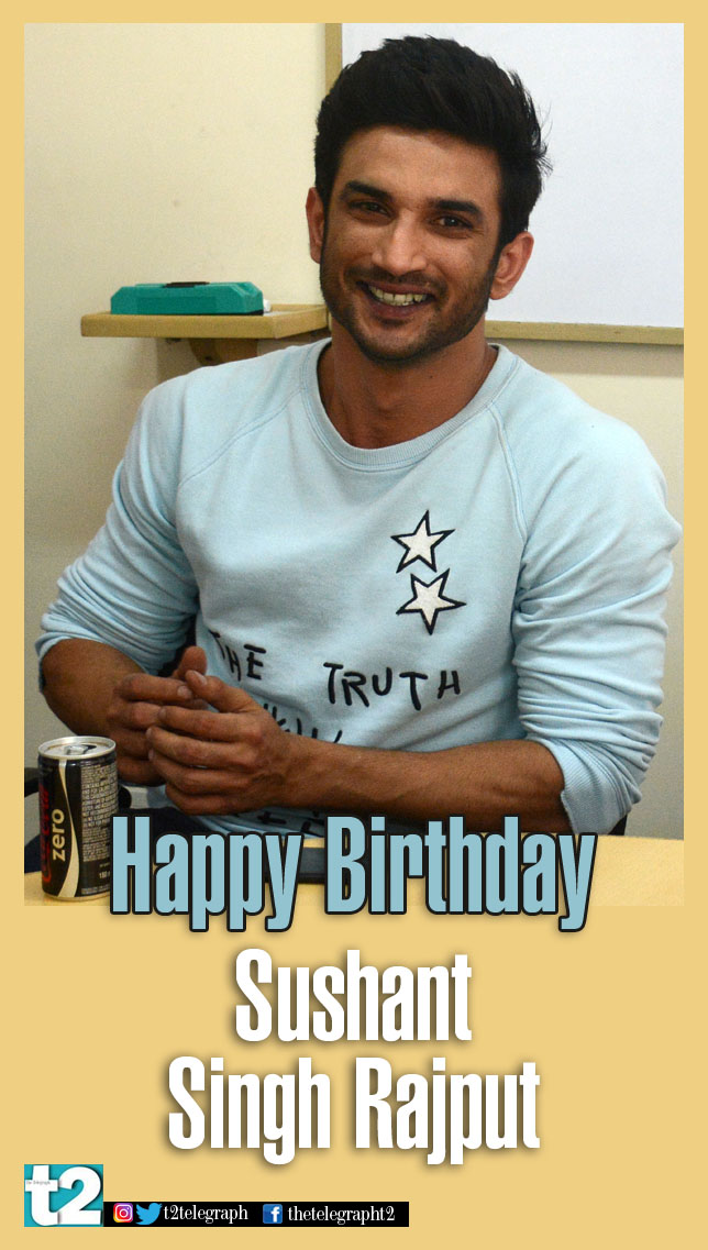 Suave and smart, cool and charming, @itsSSR is all this and more! t2 wishes our fave 'chhichhora' a fab birthday!