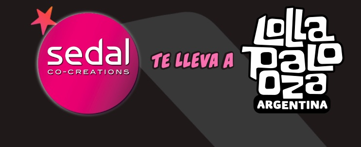 Promo Sedal Lollapalooza 2020: Ganá entradas al Lollapalooza Argentina http://bit.ly/2sI7KPJ  #oferta #promo #promoción #Argentina #promos #Argpic.twitter.com/1uv2g1sKPw
