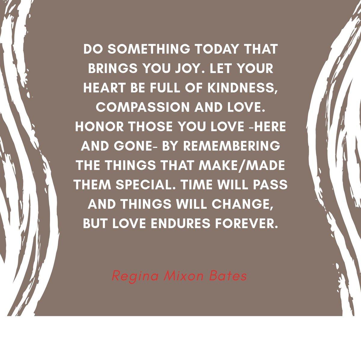 Do something today that brings you joy.  #changeyourmindset #inspiration #wordstoliveby #ownyourfuture #leadership #authorslife #publicspeaker #motivationalspreaker #youcanbeattheodds #ReginaMixonBatespic.twitter.com/InOQbn2mur