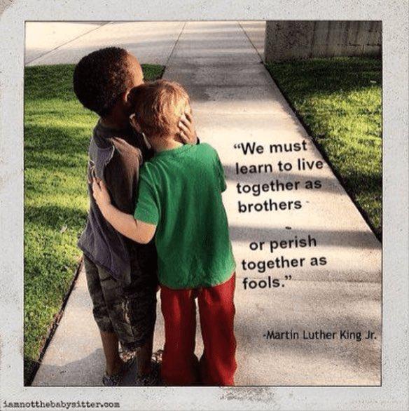 Remembering Dr. King. @MLKDay