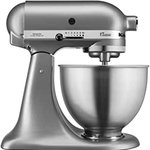 Image for the Tweet beginning: KitchenAid 5K45SSBSL Classic Stand Mixer