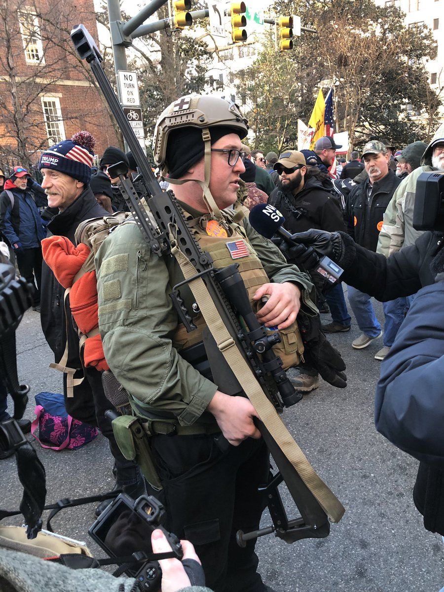 Range Owner Brings Massive .50 Caliber Rifle To Richmond Gun Rights Rally