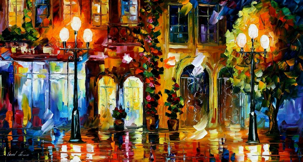 NIGHT DOORS — PALETTE KNIFE Oil Painting On Canvas By Leonid Afremov https://afremov.com/night-doors-palette-knife-oil-painting-on-canvas-by-leonid-afremov-size-36-x20.html… #instaabstract #abstractartpic.twitter.com/rM9rH4GNxf