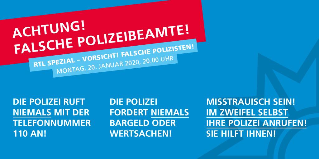 #FalschePolizisten