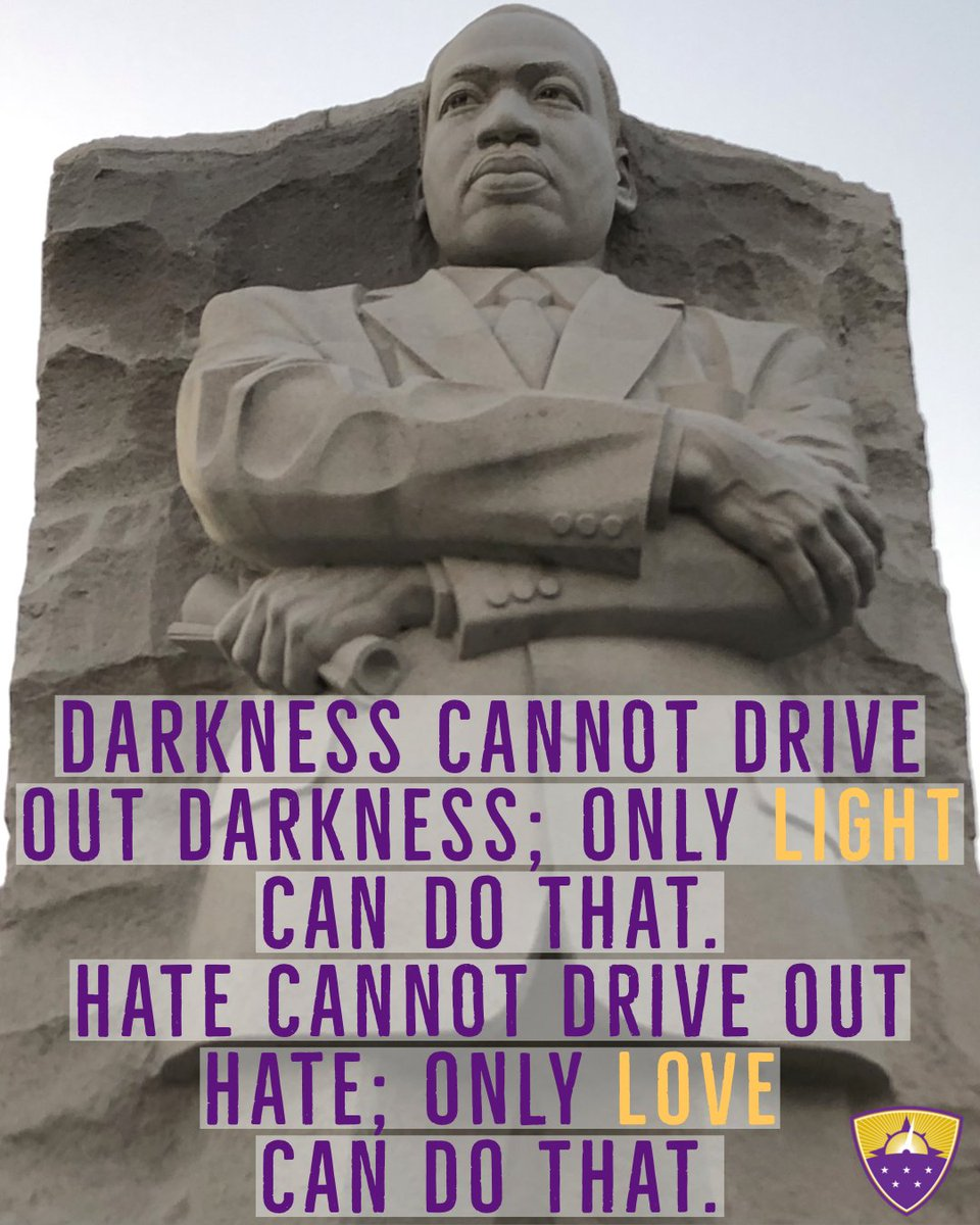 Be the light. Be the love. 💜💛💜 #afftonlearns #afftonstrong #MLKDay