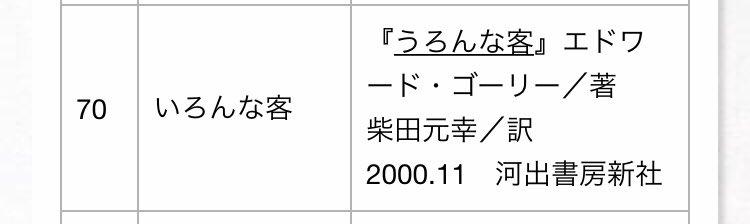福井県立図書館の覚え違いタイトル集www司書の方を尊敬しますwww