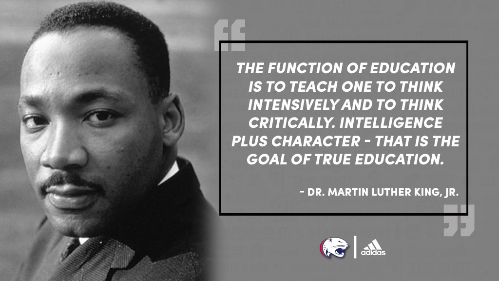 Today we celebrate Dr. Martin Luther King Jr.'s life and legacy #JagNation
