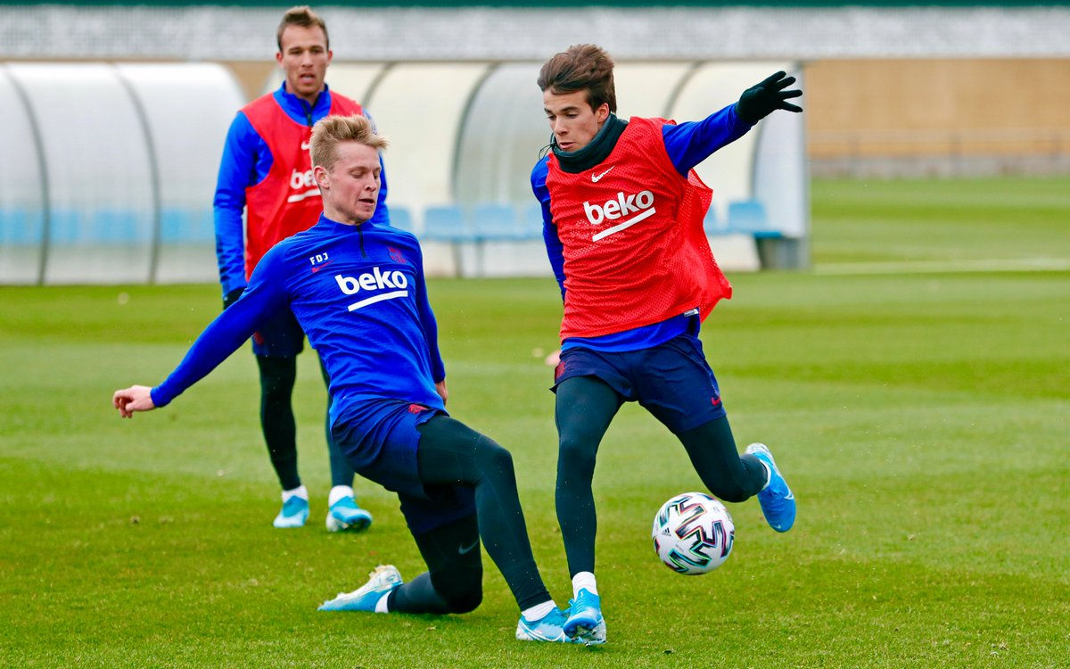From today's workout: Frenkie, Riqui, and Arthur
