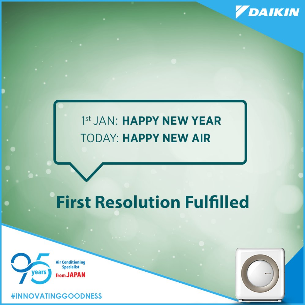 The new year has just started. Have you fulfilled your resolution to healthy air yet InnovatingGoodness https t