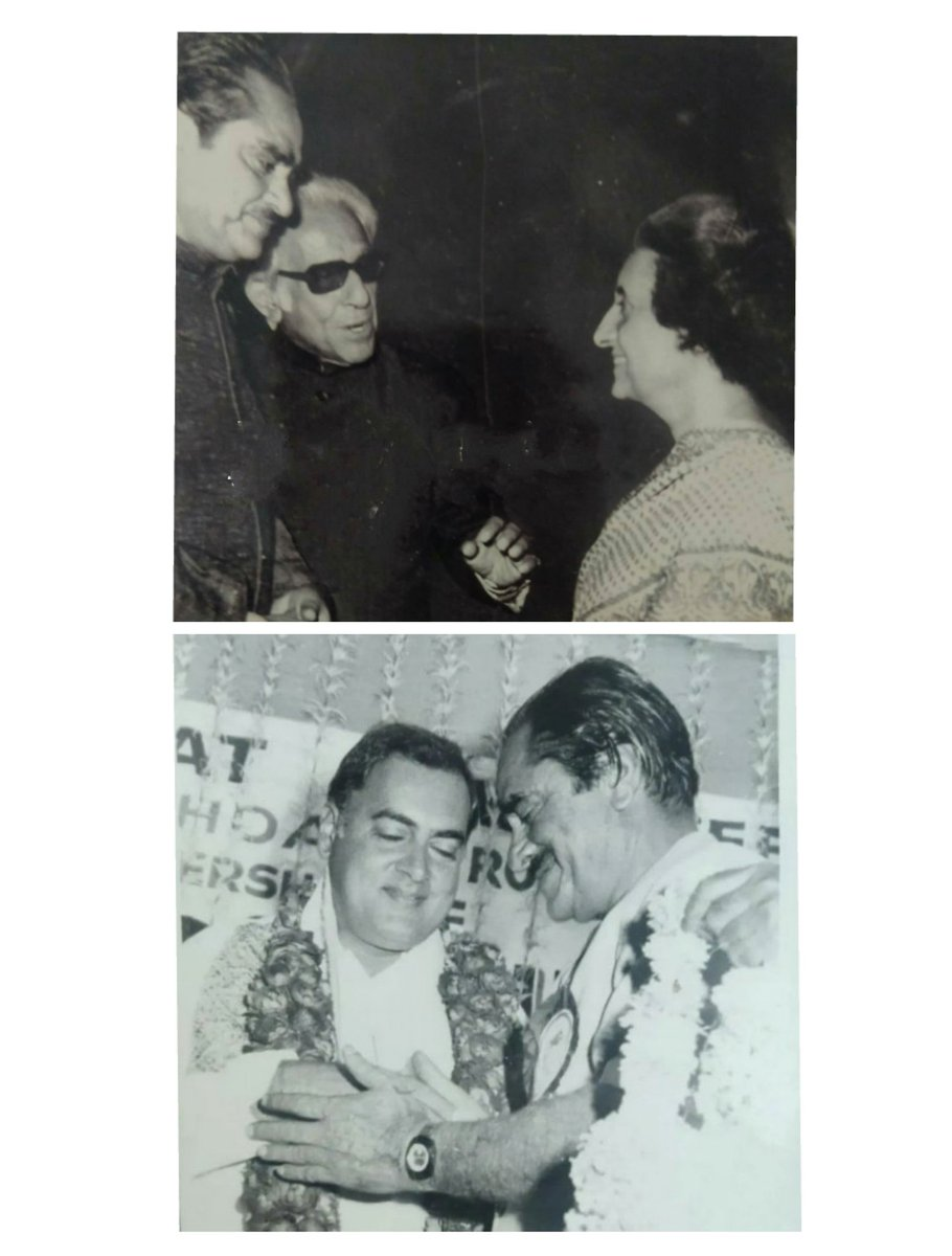 These pictures are  inhold several meaning .    Pic 1: Indira Gandhi and Rajiv Gandhi  with Karim Lala  Pic  2: PM Modi with students   #विरोधियों_सूजी_है<br>http://pic.twitter.com/shyx56hjSh