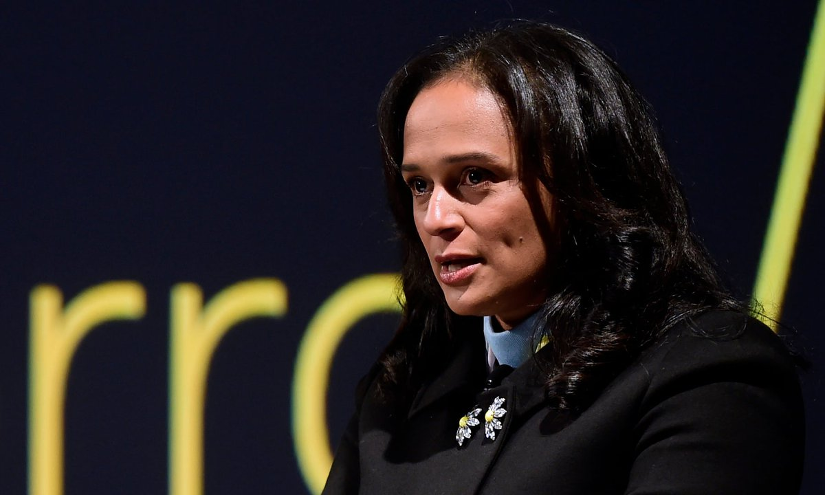 Isabel dos Santos responds to Luanda Leaks investigation theguardian.com/world/2020/jan…