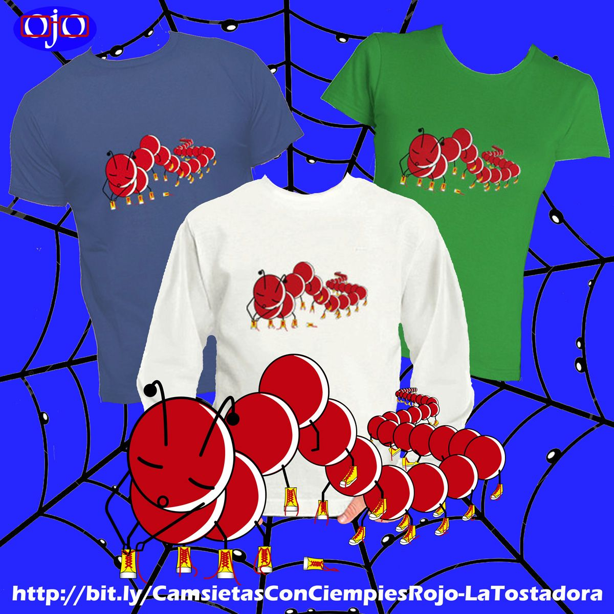 Sometimes, animals give us very interesting lessons and, perhaps, it surprises us.  How would you feel if, every morning, you had to tie the laces of 50 pairs of shoes?  This centipede is very clear: http://bit.ly/CamsietasConCiempiesRojo-LaTostadora …  #centipedes #funtshirts #tshirtdesign #Notrends pic.twitter.com/Eeiqj1lOLa