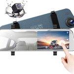 Image for the Tweet beginning: Mirror Dash Cam 1080P Dual