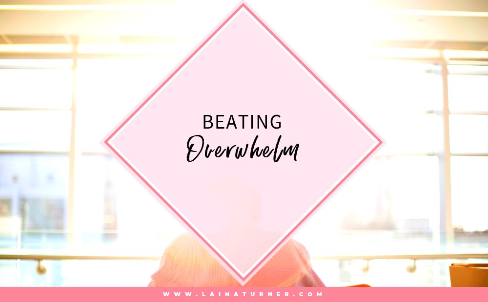 Beating Overwhelm http://bit.ly/2SXeO6U #author #writer #creativehappylife #lifestyleblogger #fictionauthorpic.twitter.com/zdMfe52uR5