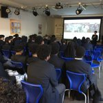 Image for the Tweet beginning: Year 11 heard from the