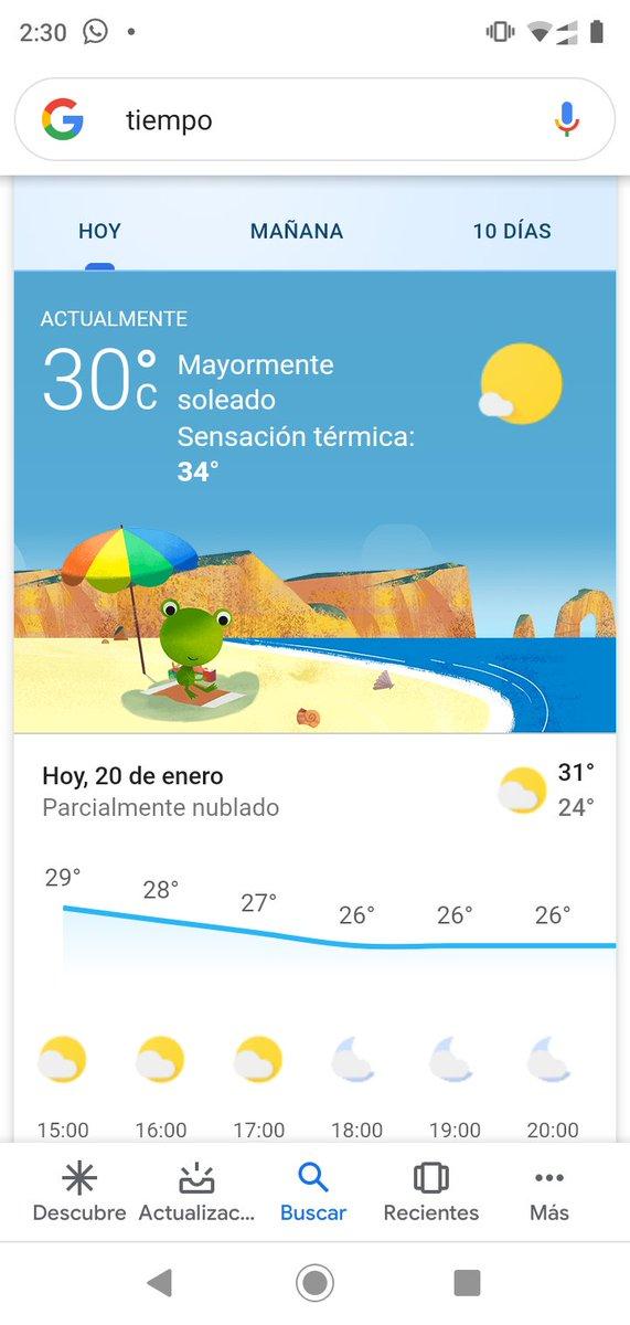 JAJAJAJA relájate un poco que acá en Barranquilla hace 30° con sensación térmica de 34° y no es para tanto pic.twitter.com/aC1fkftxO2