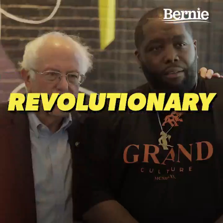 The policy of Sanders campaign, much like the Poor Peoples Campaign of Dr. King, or Eugene Debs campaign 100 years ago before him, it is aligned for all people. –@KillerMike