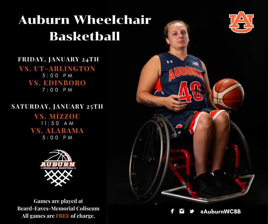 Finished the tournament in Birmingham with a 2-3 record. Back home this weekend for four games. Come out to the Coliseum to catch one. All games are FREE of charge! War Eagle!!! 🦅🐅 #Auburn #AuburnBasketball #WarEagle #BallinattheColi @AuburnU