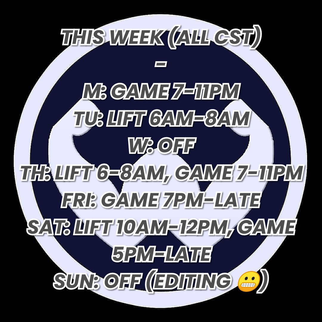 THE PLAN FOR THE WEEK   Mark your  c a l e n d a r s http://TWITCH.TV/WING_STR #ESCAPEFROMTARKOV #ARKSURVIVALEVOLVED  #Gaming #gamingmemes #gamingcommunity #gaminglife #GamingPosts #Gamingmeme #gamingpc #gamer #twitch #stream #instagamer #powerlifterpic.twitter.com/h99nGFXeon