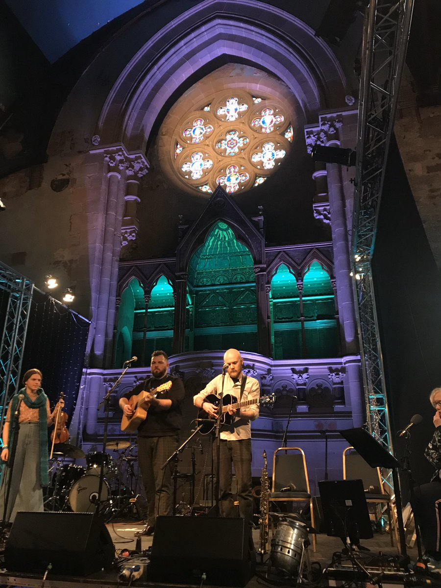 We loved our taste of Bogha-Frois performing for @JaniceForsyth & our @ccfest audience today in @theatrecottiers - tune in @BBCRadioScot to hear @manoftheminch Malin Lewis & @mmckenzieonline perform gorgeous music shortly! 🌈🎵❤️ #celticconnections #mondaymotivation