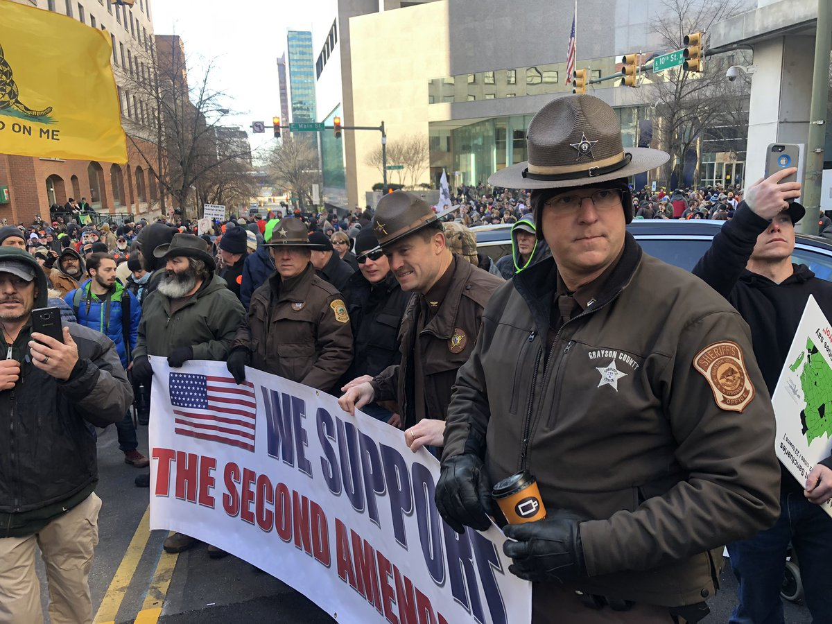 Virginia Sheriffs: We Support the Second Amendment #VirginiaRally