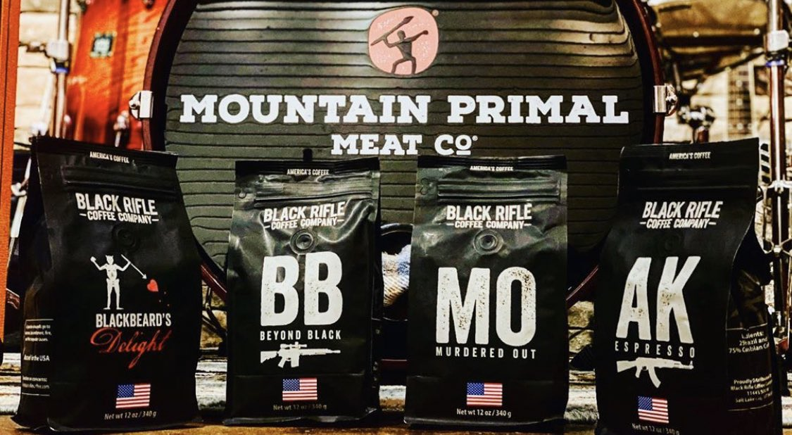 Good meat, good music and good coffee @TimMontana knows the drill. #mountainprimal