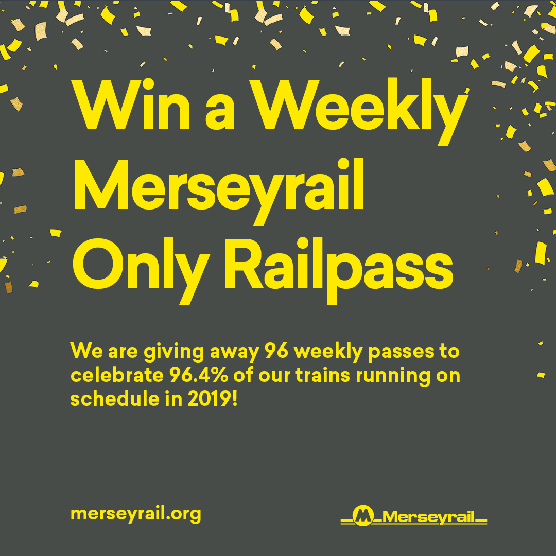 COMPETITION TIME!To celebrate 96.4% of our trains running on schedule in 2019 we're giving away 96 weekly Railpasses. To enter all you have to do is: - Retweet and like this post. - Make sure you're following us. Competition closes Friday 12pm - Good Luck! <br>http://pic.twitter.com/mMUwRmSbba