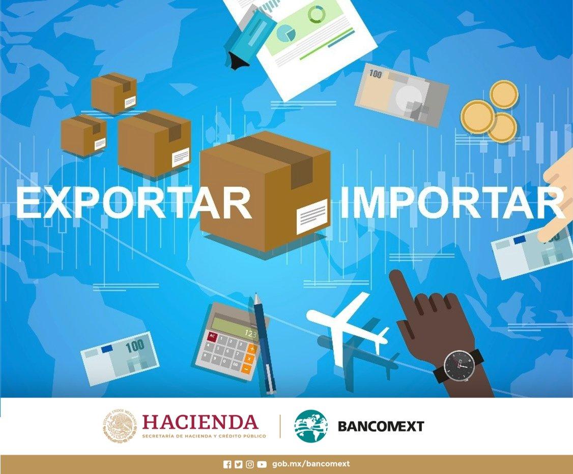.@bancomext financia a los #Exportadores e #Importadores mexicanos. Conoce los #Servicios financieros que ofrece: https://bit.ly/2JeZrND #ComercioExterior #Financiamientopic.twitter.com/e2VxQ9D5Lj