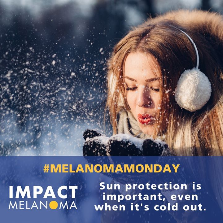 Remember to put on your #sunscreen when you put on your winter coat. Read more #skincancerprevention tips: https://bit.ly/2ZtmmwW   #melanomamonday #skincancer #melanoma #melanomaawareness #skincancerawareness #skincancerprevention #instahealth #sunsafety #melanomawarriorpic.twitter.com/h0YlNomXKR
