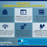 Image for the Tweet beginning: #Malware can easily infect your